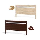 【水晶晶家具/傢俱首選】CX1210-12 安寶3.5呎耐磨橡木單人床頭片(不含床底)~~雙色可選