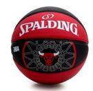 SPALDING   BULLS 藍球 公牛  七號  室外 紅 黑【運動世界】SPA83173