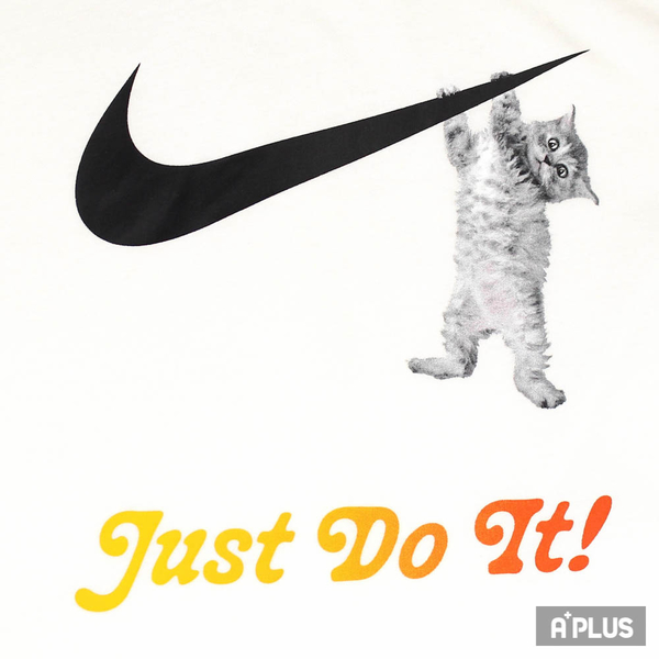 NIKE 女 AS W NSW TEE SWOOSH CAT 圓領T(短) 貓咪 - DA2481100
