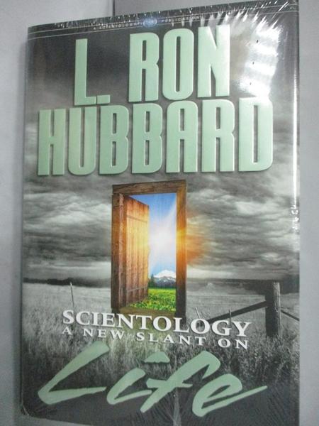 【書寶二手書T2/宗教_FAO】Scientology: A New Slant on Life_Hubbard, L.
