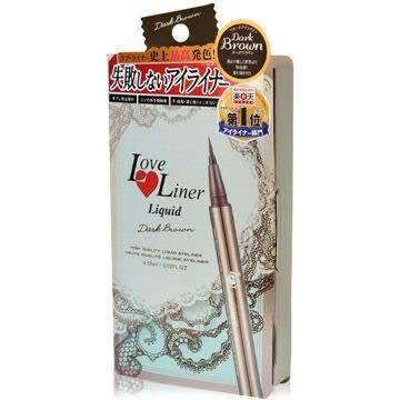喬雅香水美妝~ MSH Love Liner 隨心所慾防水極細眼線液 升級版 #氣質深咖 0.55ml