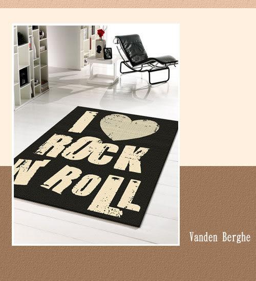 范登伯格 爵士★單色系類亞麻地毯-ROCK160x230cm