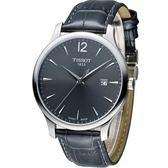 天梭 TISSOT Tradition系列 懷舊經典時尚腕錶 T0636101608700
