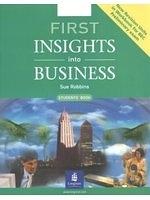 二手書博民逛書店 《First Insights into Business (First Certificate Expert)》 R2Y ISBN:0582846625│S.Robbins
