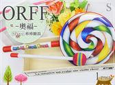 【小麥老師樂器館】棒棒糖鼓 6吋 (含鼓棒) 奧福 ORFF 幼兒樂器 SP002【O42】節奏樂器 鈴鼓 沙蛋 砂鈴