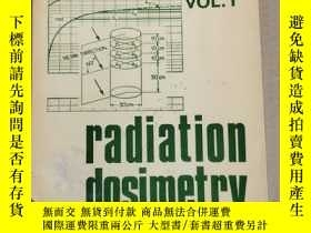 二手書博民逛書店radiation罕見dosimetry vol.1(P2559)Y173412
