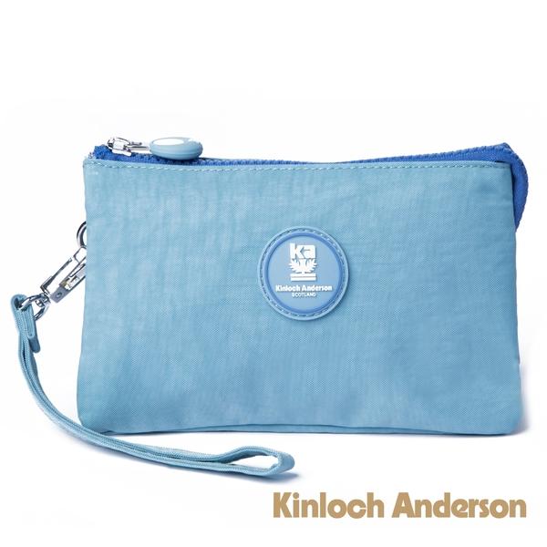 金安德森 PAINT 三層收納包 天藍色