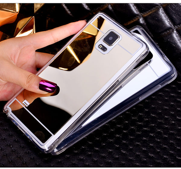 【SZ62】CC 電鍍 鏡面 鏡子 TPU軟殼三星NOTE 3 手機殼NOTE4 NOTE 5手機殼