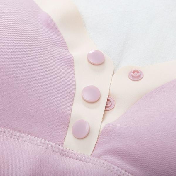漂亮小媽咪 薄款 哺乳內衣【Bra369】透氣孔 無鋼圈 舒適 親膚 孕婦內衣 前開扣 哺乳胸罩