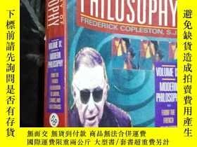二手書博民逛書店a罕見history of philosophyY12498