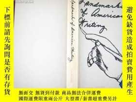 二手書博民逛書店LANDMARKS罕見OF AMERICAN WRITING(英