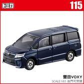 《TOMICA火柴盒小汽車》TM115 豐田 VOXY  ╭★ JOYBUS玩具百貨