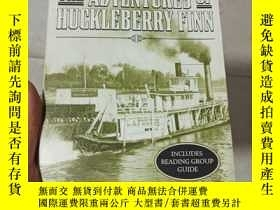 二手書博民逛書店THE罕見ADYENTURES OF HUCKLEBERRY FINN(英文版)Y283341 MARK TW