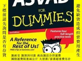 二手書博民逛書店ASVAB罕見For Dummies-假人用ASVABY443421 Rod Powers, Jenni...