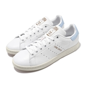 adidas 休閒鞋 Stan Smith 白 藍 男鞋 女鞋 皮革 復古奶油底 運動鞋【PUMP306】 FV8276