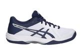 ASICS 亞瑟士 女排羽球鞋 (白藍) GEL-TACTIC 排羽鞋款 B752N-100【 胖媛的店 】