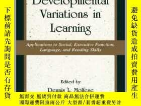 二手書博民逛書店Developmental罕見Variations Learning-發展變異學習Y361738 Dennis