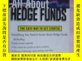 二手書博民逛書店All罕見About Hedge Funds (對衝基金全解)Y