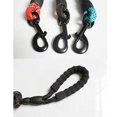 舒適脖圈 牽引繩 可調節幼犬金毛拉布拉多小中大型犬狗鍊帶狗項圈 熊貓本