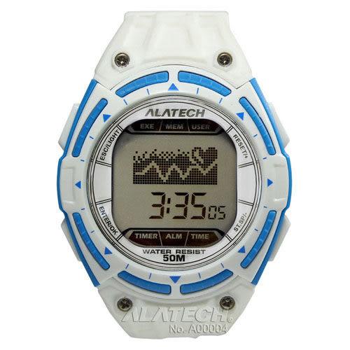 大毛生活館●ALATECH FB003WH 專業健身 心率錶 – 白色