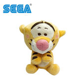 【日本正版】跳跳虎 絨毛玩偶 吊飾 娃娃 小熊維尼 迪士尼 SEGA 300151-C