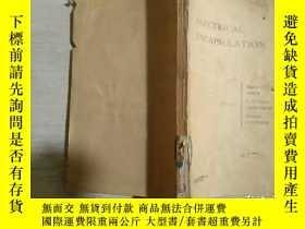 二手書博民逛書店ELECTRICAL罕見ENCAPSULATION 電密封(英文