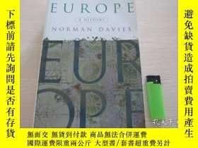 二手書博民逛書店Europe:罕見A History 平裝Y16690 Norm