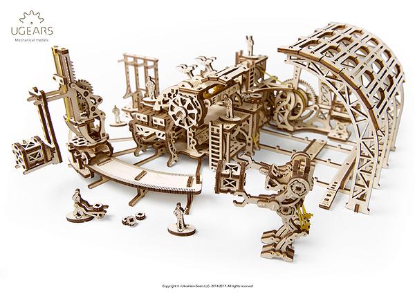 Ugears 機械小鎮 機器人工廠