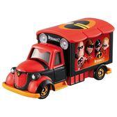 TOMICA 迪士尼超人特攻隊2 電影宣傳車 DS11414多美小汽車