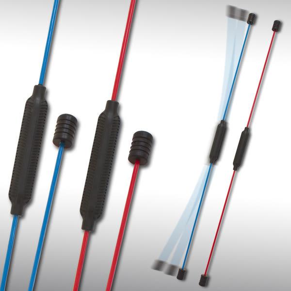【洛克馬創意生活館】日本熱銷款 BEAT FLEXX 多功健身彈力棒 訓練核心肌群 贈示範光碟