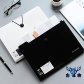 文件夾多層文件袋簡約大容量透明資料冊多功能資料包