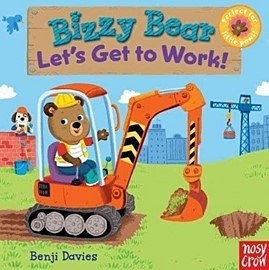【Bizzy Bear 可愛操作書】LETS GET TO WORK