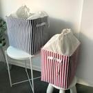 收納箱 束口衣物收納筐帆布臟衣桶加厚宿舍整理筐內衣兒童衣服衣柜儲物籃 交換禮物