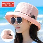 女沙灘帽大沿韓版百搭漁夫帽