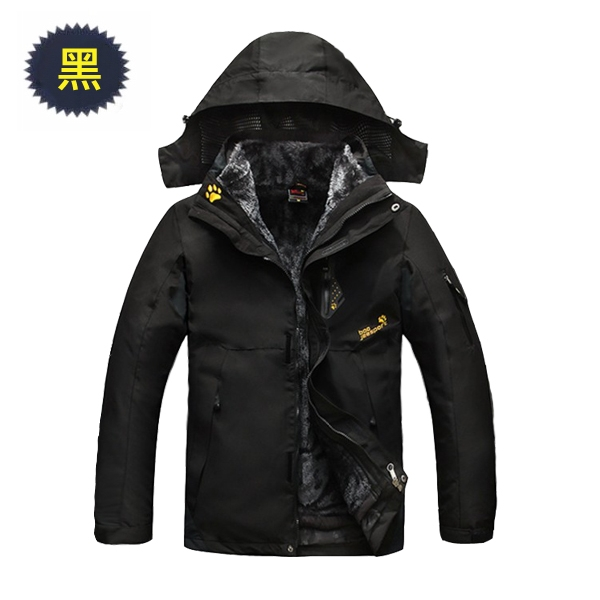 【美國熊】滑雪 旅遊 登山 防風保暖抗汙防水 羊羔絨內裡 機能型加厚風衣衝鋒衣 [NBJ-273]
