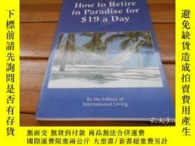 二手書博民逛書店Wow罕見to Retire in Paradise for $