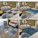 北歐式簡約現代美式客廳地毯沙發茶幾墊床邊毯臥室滿鋪機洗  mandyc衣間