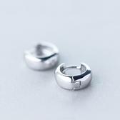 耳環 925純銀(耳針式)-個性時尚生日情人節禮物女飾品73ds47[時尚巴黎]