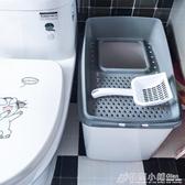 afp貓砂盆全封閉式拉屎防臭頂入上入特大號貓砂盒用品廁所防外濺ATF 格蘭小舖
