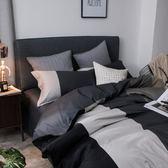 床上四件套 夏天床套被套四件套全棉純棉床單歐式夏季氣質簡約大氣歐美風男生  萌萌