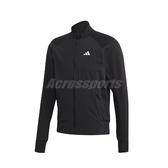 adidas 外套 VRCT Tiger Jacket 黑 白 男款 飛行夾克 運動 訓練 【PUMP306】 FM9970