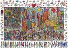 德國進口 1000片拼圖 時代廣場 成人減壓益智拼圖【英賽德3C數碼館】