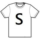 【T-Shirt (S)】短袖-T恤 背心  尺碼 - S