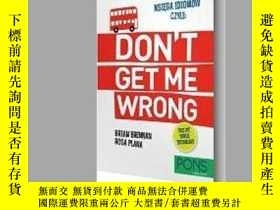 二手書博民逛書店Ksiega罕見idiomow, czyli: Don t get me wrong!Y405706 IS
