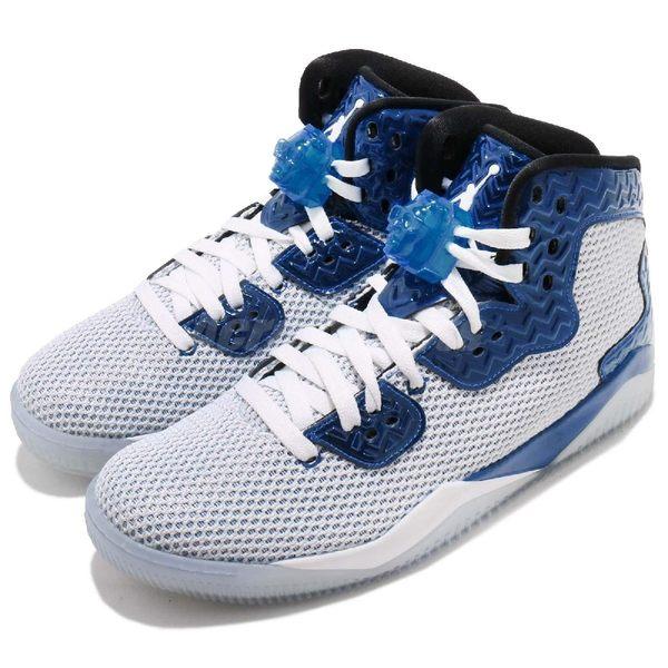 【四折特賣】Nike 籃球鞋 Air Jordan Spike Forty 白 灰 藍 喬丹飛人 男鞋【PUMP306】 819952-107