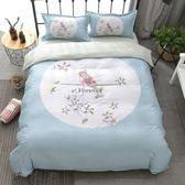 四件套全棉純棉床單被套床上用品簡約