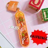 正版授權 花栗鼠 奇奇蒂蒂 滑板鑰匙圈 手指滑板 吊飾 掛飾 COCOS SN199