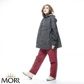 【MORR】Alexis 高動能防水雨褲【栗酒紅】登山/通勤/機車/兩件式/機能