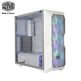 酷碼 MasterBox TD500 Mesh (白) A.RGB 顯卡長41/U高16.5/玻璃透側/網孔面板/ATX