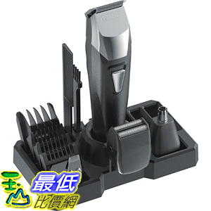 [美國直購] Wahl 9860-700 刮鬍刀鼻毛器修容套件組 Groomsman Pro All-in-one Rechargeable Grooming Kit